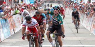 Elia Viviani remporte la 3ème étape du Tour Poitou-Charentes devant Nacer Bouhanni