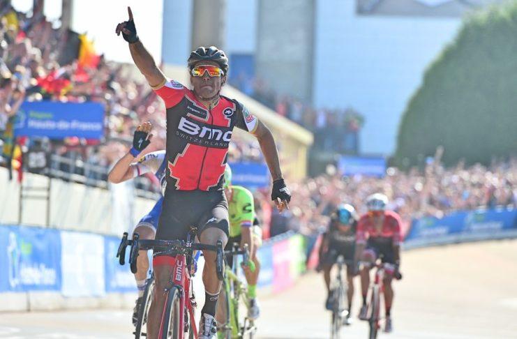 BMC Racing Team autour de Greg Van Avermaet à la Bretagne Classic - Ouest-France