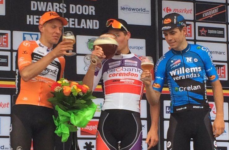 A Travers le Hageland 2017 a encore offert une superbe course. Mathieu Van der Poel (Beobank) et Wout Van Aert y ont joué un rôle clé