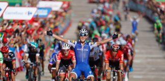 Deuxième victoire pour la Quick-Step sur la Vuelta 2017