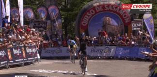 Mikel Landa mène le Tour de Burgos