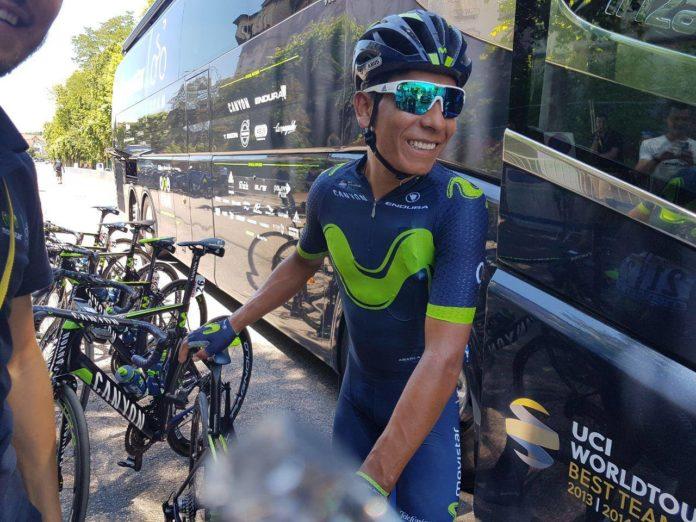 Nairo Quintana entame une nouvelle saison avec l'équipe Movistar