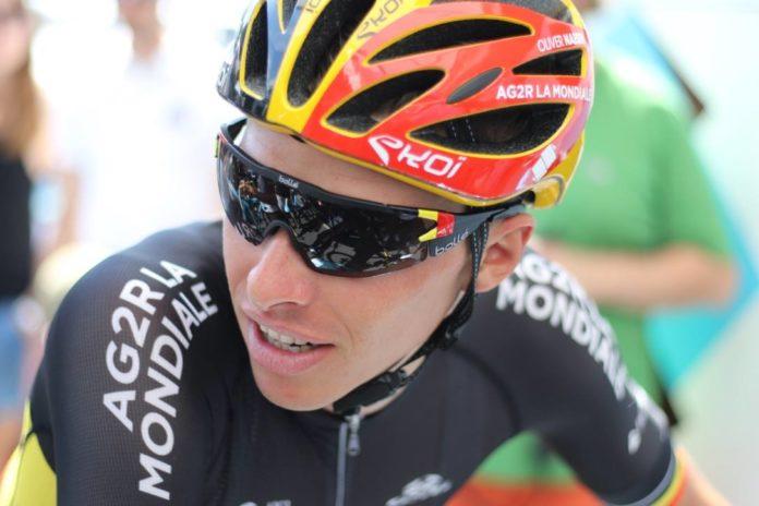 Oliver Naesen (Ag2r-La Mondiale) postulant à la victoire au Ronde