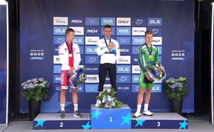 Victor Campenaerts remporte les championnats d'Europe du chrono 2017