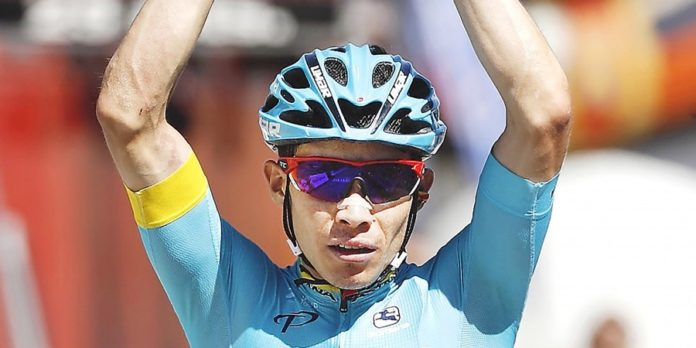 Vainqueur de la dernière étape du Tour de Burgos 2017, Miguel Angel Lopez (Astana) revient en forme au meilleur moment. Le Colombien