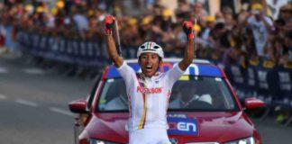 Tour de l'Avenir 2017 victoire de Bernal Gomez