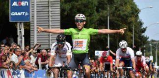 Tour de l'Avenir 2017 3e étape Kristoffer Halvorsen