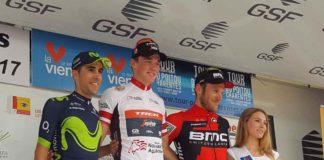 Podium du Tour du Poitou-Charentes 2017