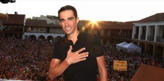 Alberto Contador donne son avis sur la sécurité routière