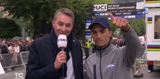 La disparition de Julian Alaphilippe à l'écran au Championnat du monde à Bergen