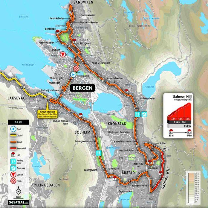 Championnat du monde de cyclisme 2017 le parcours course for Championnat du monde de boules carrees
