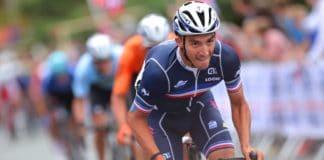 Julian Alaphilippe premier de l'équipe de France 10e