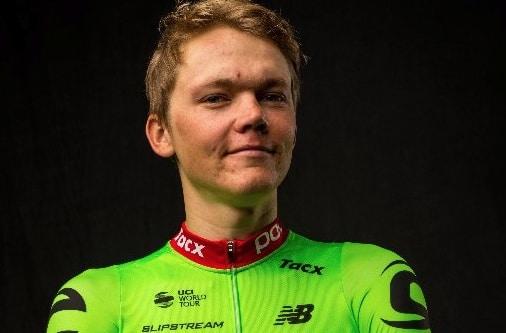 Toms Skujins sous le maillot Cannondale-Drapac