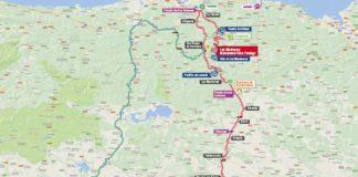 Vuelta 2017 carte du parcours étape 17