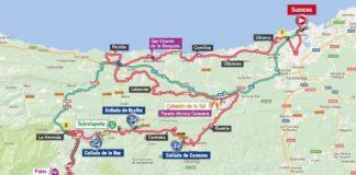 Vuelta 2017 parcours carte Etape 18