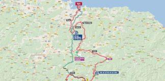Vuelta 2017 Parcours et carte Etape 19