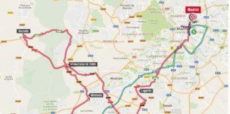 Vuelta 2017 parcours carte étape 21