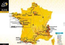 Parcours-Tracé du Tour de France 2018 dévoilé aujourd'hui