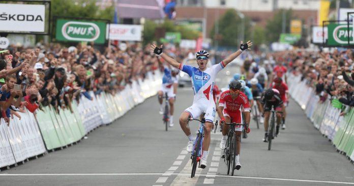 Arnaud Démare dernier vainqueur des championnats de France