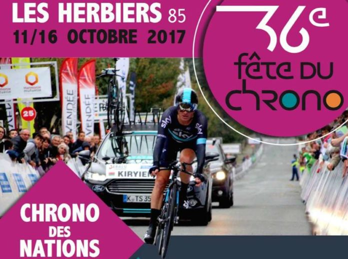 Chrono des nations 2017 les herbiers vendée