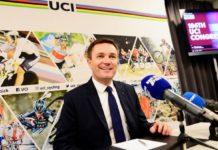 David Lappartient nouveau président de l'UCI