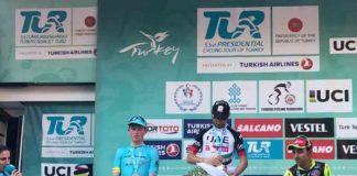 Diego Ulissi nouveau leader du Tour de Turquie 2017