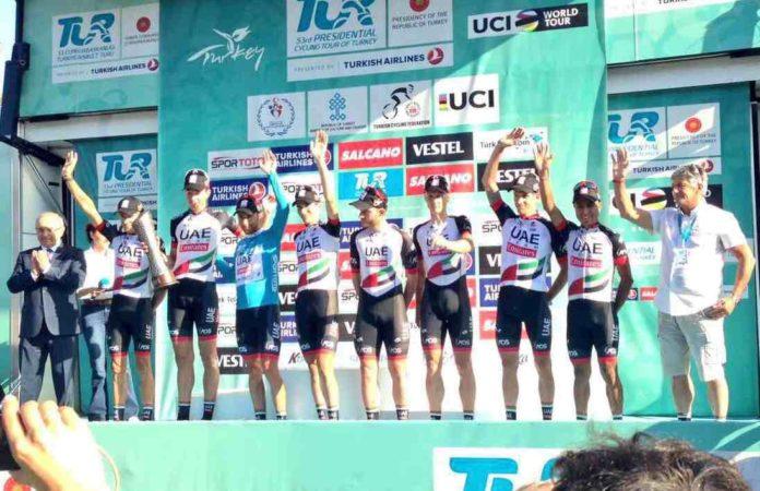 Diego Ulissi remporte le Tour de Turquie 2017