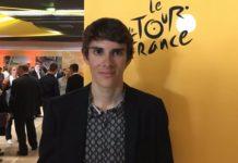 Guillaume Martin à la présentation du Tour de France 2018