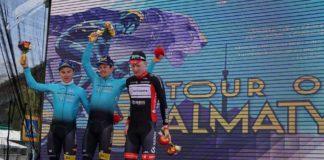 Jakob Fuglsang remporte la 2e étape du Tour of Almaty 2017