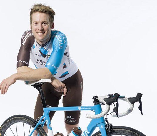 Jan Bakelants coureur de l'équipe Ag2r La Mondiale
