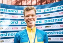 Kim Magnusson est le 22e coureur de l'effectif