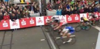 Sam Bennett au sprint sur le Tour de Münster 2017