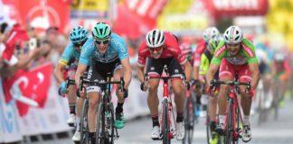 Sam Bennett vainqueur d'étape sur le Tour de Turquie