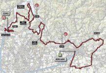 Tour de Lombardie 2017 parcours carte