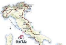 Parcours complet tour d'italie 2018 101e giro
