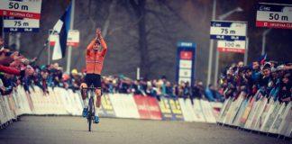 Mathieu van der Poel champion d'Europe