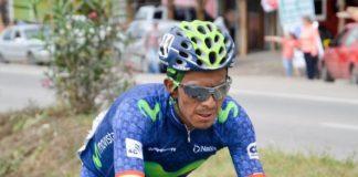 Huit coureurs contrôlés positifs sur le Tour de Colombie 2017 dont Oscar Soliz (Photo). Photo : Movistar