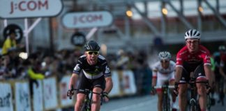 Critérium de Saitama 2017 Cavendish vainqueur