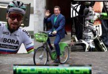 Peter Sagan aurait aimé faire du Vélib' avec Arnold Schwarzenegger dans les rues de Paris