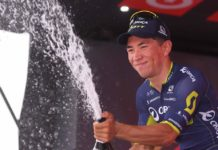 Caleb Ewan fera ses débuts sur le Tour de France en 2018. Photo : Orica-Scott
