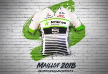 Maillot 2018 Fortuneo Samsic