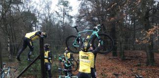 L'équipe Lotto NL-Jumbo a fait un stage commando