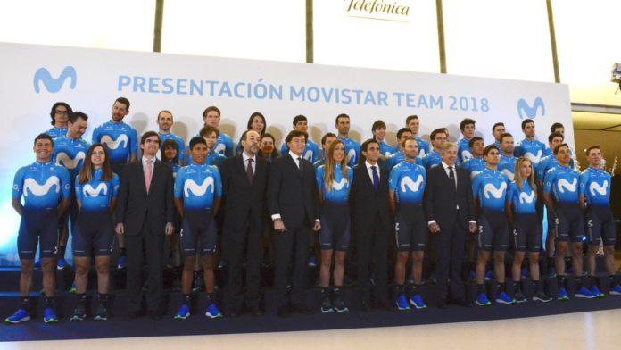 Movistar Team avec un nouveau maillot