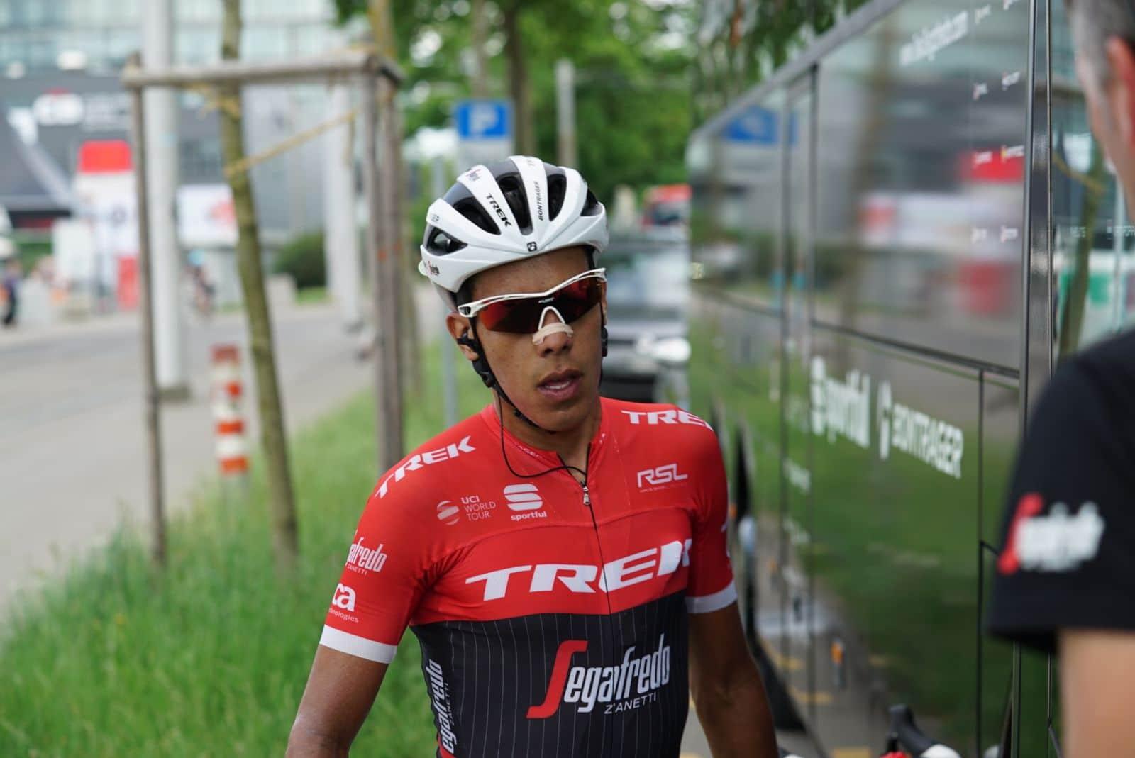 Pantano contrôlé positif à l'EPO et suspendu — Trek-Segafredo
