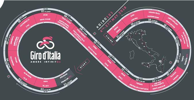 Les quatre derniers tickets du Giro 2018 donnés