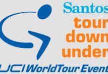 Logo Santos Tour Down Under 2018