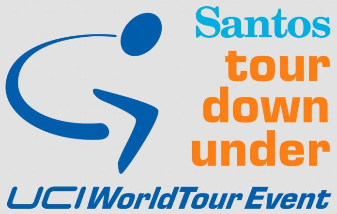 Logo Santos Tour Down Under 2018