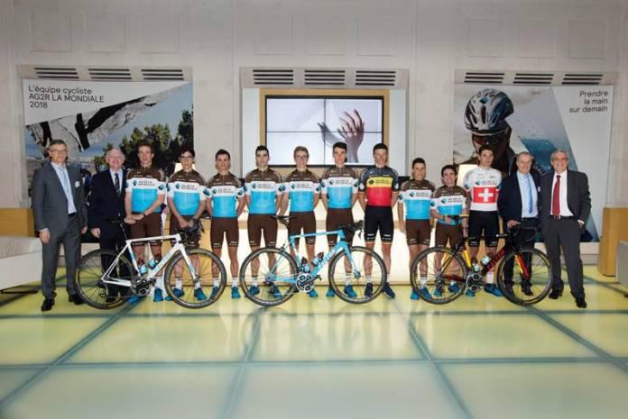 AG2R La Mondiale avec Dillier et Naesen