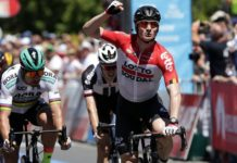 André Greipel premier leader du Tour Down Under 2018