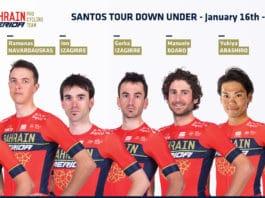 Tour Down Under : Bahrain-Merida avec Pozzovivo et les frères Izagirre